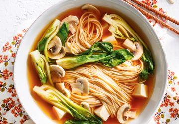 Soupe ramen au tofu