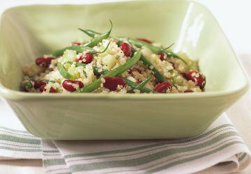 Salade de quinoa et de haricots