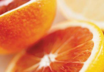 Punch aux canneberges et à l'orange sanguine
