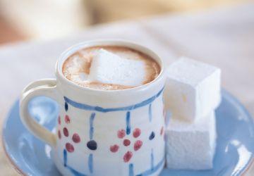 Chocolat chaud et guimauve maison