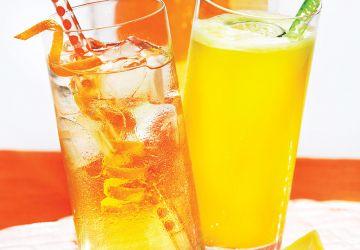 Limonade à l'ananas et au citron vert