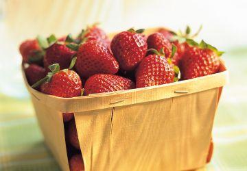 Eau fraise-pomme verte