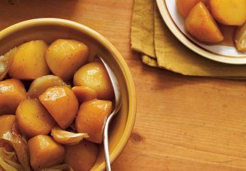 Patates jaunes au miel