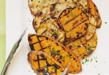 Trio de légumes grillés à l'ail