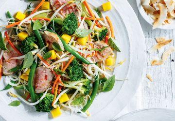 Salade de filet de porc thaï