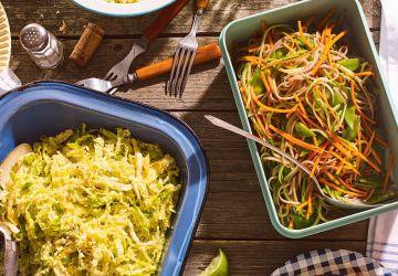 Salade froide de nouilles soba au miso
