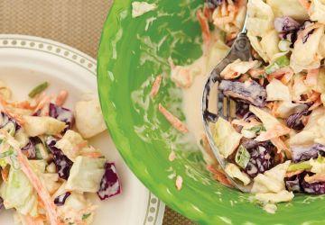 Salade de chou croquante