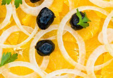 Salade d'orange et d'oignon d'Ethné de Vienne