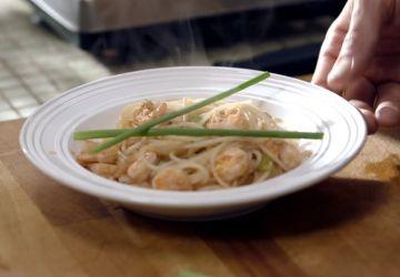 "Spaghettis au ""bloody caesar"""