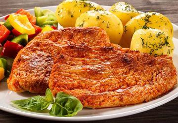 Côtelettes de porc au paprika