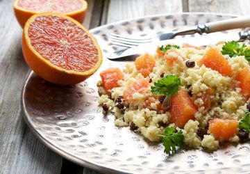 Salade de couscous et fruits