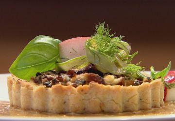 Tartelettes champignons-ricotta