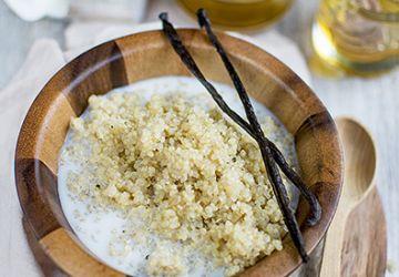 Quinoa parfumé à la vanille