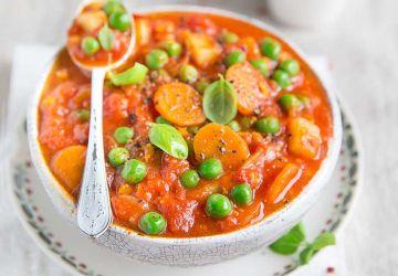 Hachis de légumes au cari