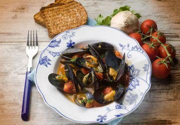 Soupe de poisson à la romaine