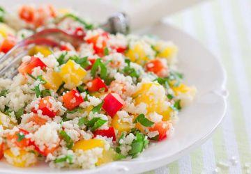 Salade-repas de couscous sur le pouce