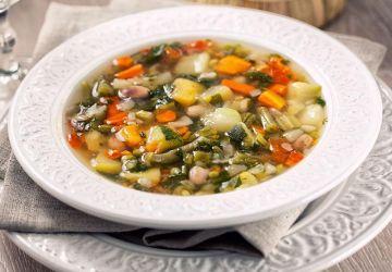 """Soupe aux légumes """"Minestrone"""""""