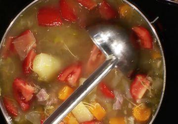 Soupe de légumes sénégalaise