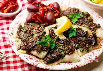 Filets de poisson à la méditerranéenne