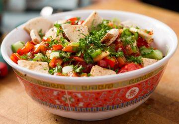 Salade Fattouche (fattoush)