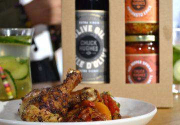 Pilons de poulet au sel à frotter barbecue aux agrumes