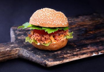"Hamburger ""Sloppy Joe"" végétarien"