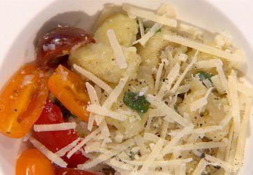Gnocchi à la pomme de terre, sauce au beurre