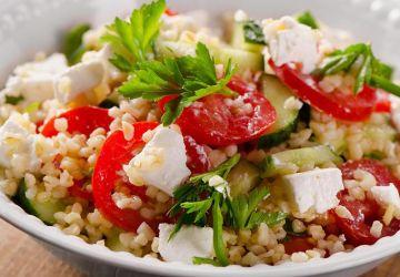 Salade grecque de quinoa
