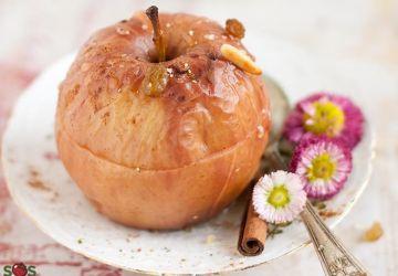 Pommes entières au four