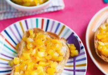 Confiture rapido mangue-ananas
