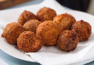 Boules frites de ganache au caramel selon Gab Lavoie