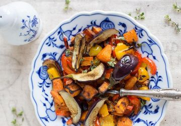 Légumes caramélisés