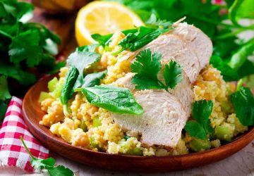 Salade de poulet et couscous