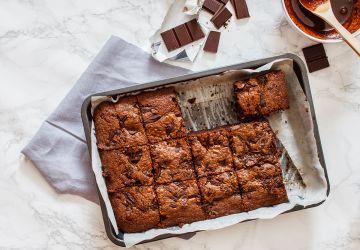 Brownies aux haricots blancs de Cat Lefebvre