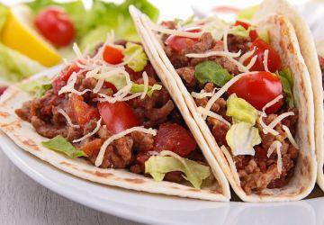 Tacos au boeuf effiloché sur le BBQ