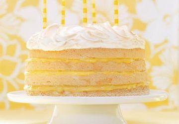 Gâteau tarte au citron