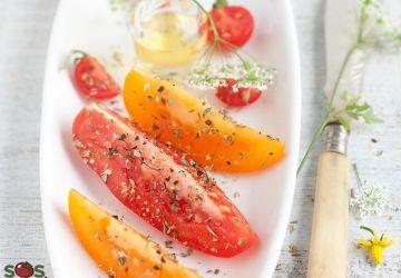 Salade de tomates à l'origan