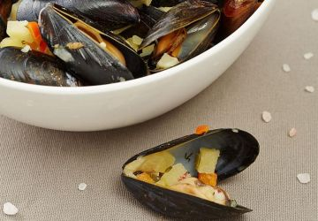 Moules à la thaïlandaise