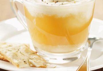 «Cappuccino» de boeuf et de panais
