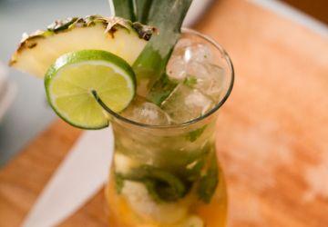 Cocktail sans alcool au gingembre et ananas selon JP Gauthier