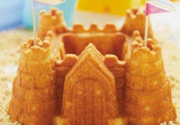 Gâteau château de sable