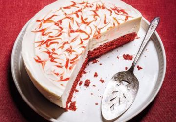 Gâteau au fromage Red Velvet
