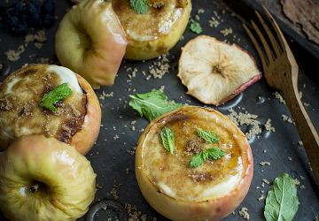 """Pommes """"brûlées"""" au tofu"""
