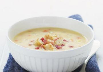 Soupe au cheddar
