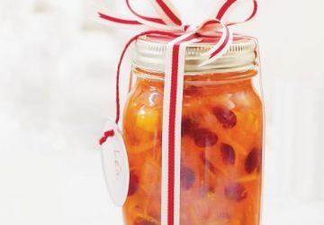Marmelade d'agrumes et de canneberges
