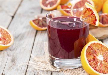 Cocktail aux oranges sanguines