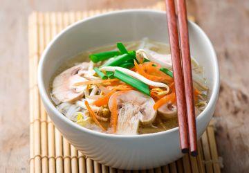 Soupe orientale aux légumes