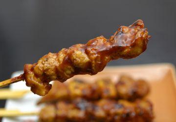 Brochettes de poulet grillées à la japonaise