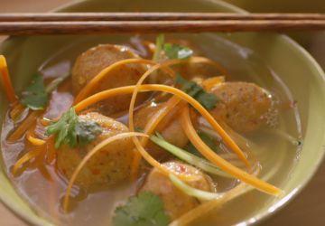 Boulettes de poisson à l'asiatique