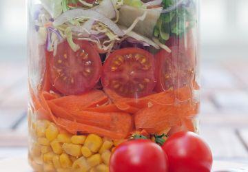 Salade grecque aux pois chiches (en pot)